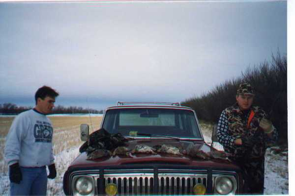 bird hunting in Saskatchewan