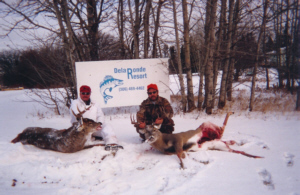 deer hunting at Delaronde Lake