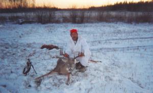 deer hunting at Delaronde Lake
