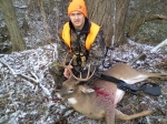 8pt first buck iever killed with a slug gun