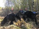SK black bear with Bear Down Outfitters